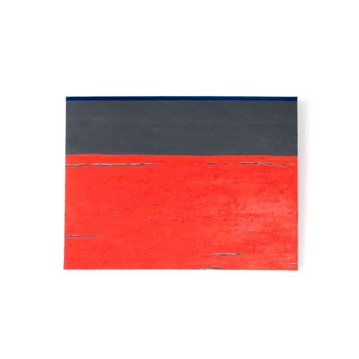 """Schilderij """"Aan het strand"""" door Veronique Jansseune"""