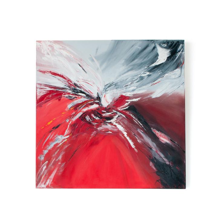 """Schilderij """"Big bang"""" door Veronique Jansseune"""