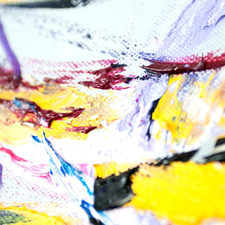 """Detailfoto van schilderij """"Illusie"""" door Veronique Jansseune"""