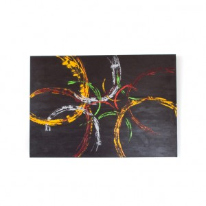 """Schilderij """"Lentekriebels"""" door Veronique Jansseune"""
