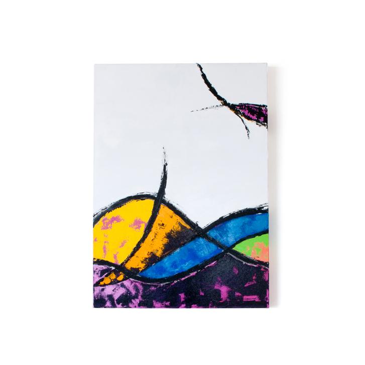 """Schilderij """"Oceaan"""" door Veronique Jansseune"""