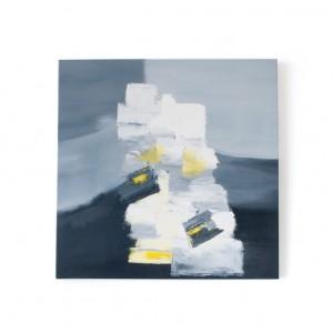 """Schilderij """"Op stapel"""" door Veronique Jansseune"""