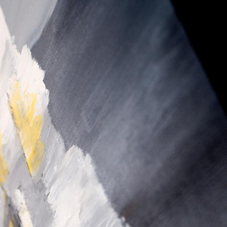 """Detailfoto van schilderij """"Op stapel"""" door Veronique Jansseune"""