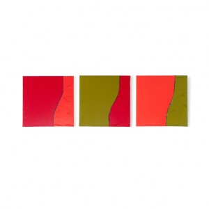 """Schilderij """"Rood Oranje Olijf"""" door Veronique Jansseune"""
