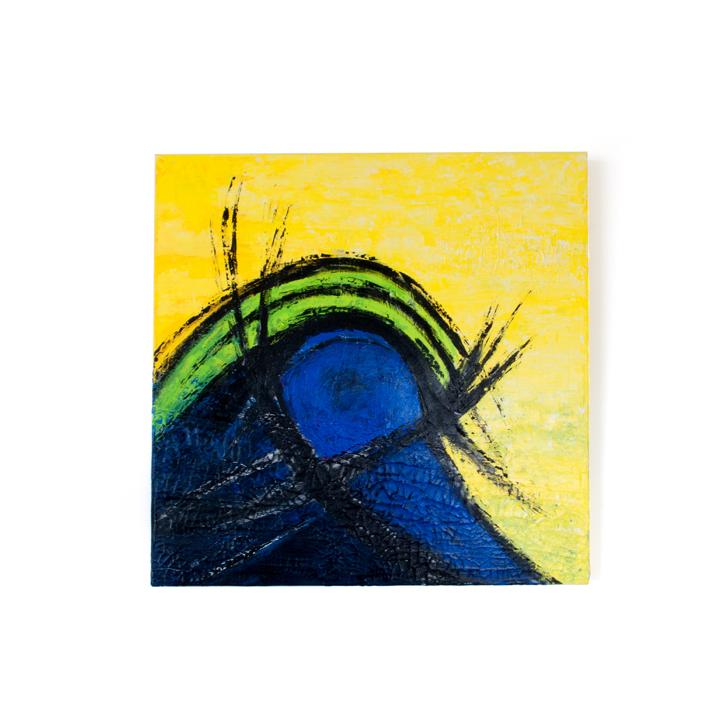 """Schilderij """"Traan"""" door Veronique Jansseune"""