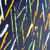 """Detailfoto van schilderij """"Vuurvliegjes"""" door Veronique Jansseune"""